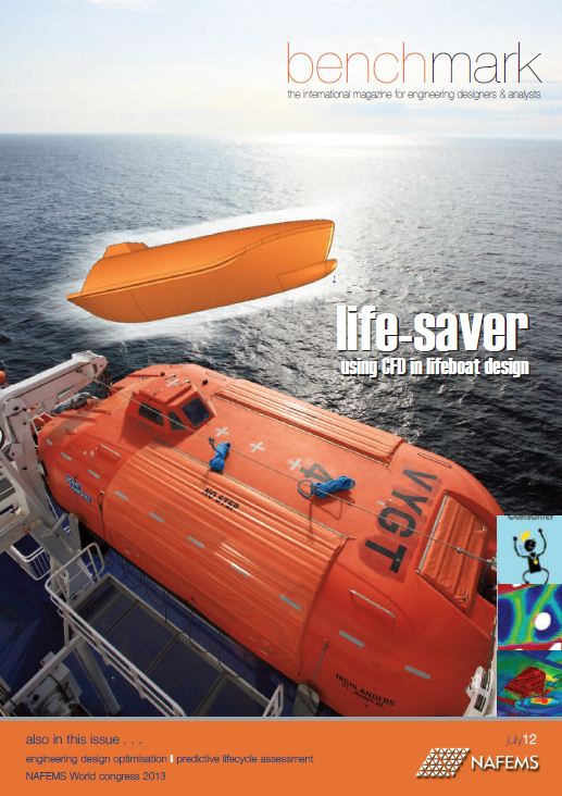 benchmark July 2012 Life-Saver - Using CFD in lifeboat design