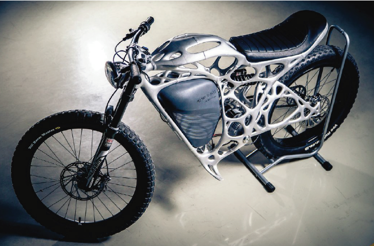 The APWorks 3D printed aluminium bike