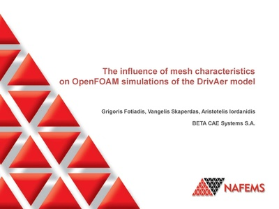 NAFEMS - The Influence Of Mesh Characteristics On OpenFOAM