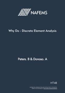 NAFEMS - Why Do Discrete Element Analysis