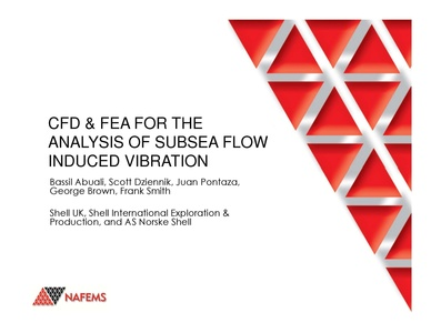 NAFEMS - CFD & FEA for the Analysis of Subsea Flow Induced Vibration