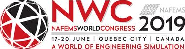 NAFEMS World Congress 2019 | Quebec City, Canada | 17 - 20 June