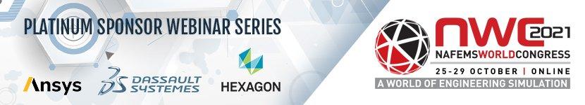 NAFEMS World Congress Platinum Sponsor Webinar Series