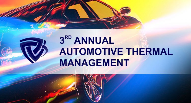 3rd Annual Automotive Thermal Management Conference