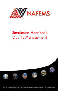 NAFEMS Simulation Handbook - Quality Management